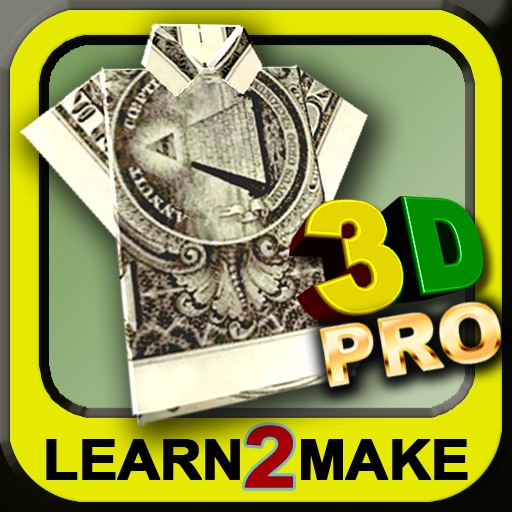美金折纸:Dollar Origami+【3D演示】