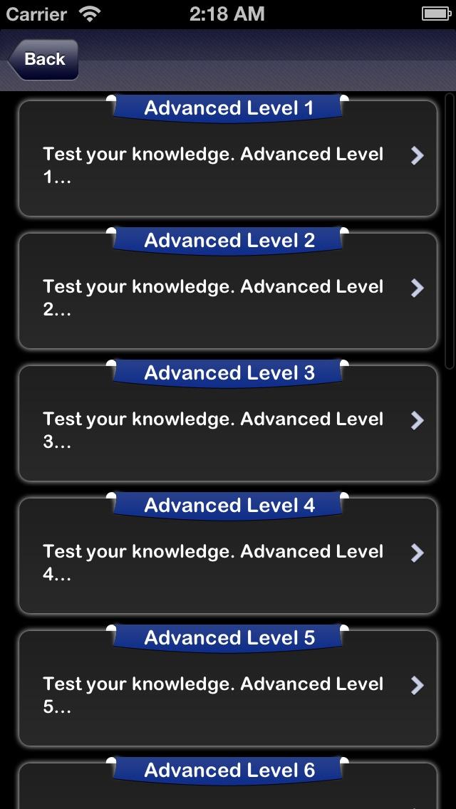 英語類義語テスト screenshot1