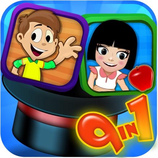 9-In-1: Kid's EduPack HD Pro