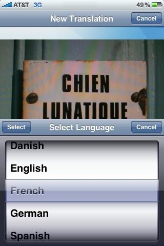 Screenshot von SpeakLike Photo Translator2