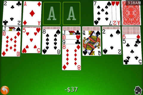 Card Shark Solitaire screenshot 1