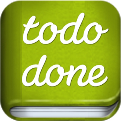 To Do Done iOS App