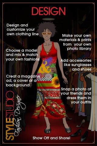 Style Studio : Fashion Designer Screenshot