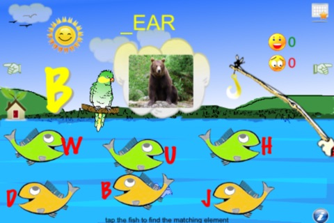 Fishing Toddler Lite (4 learning games in 1) screenshot 1