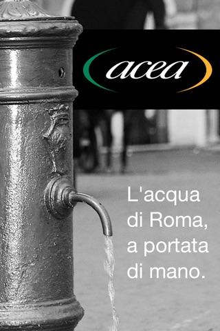 Acea - Acqua a Roma screenshot 1