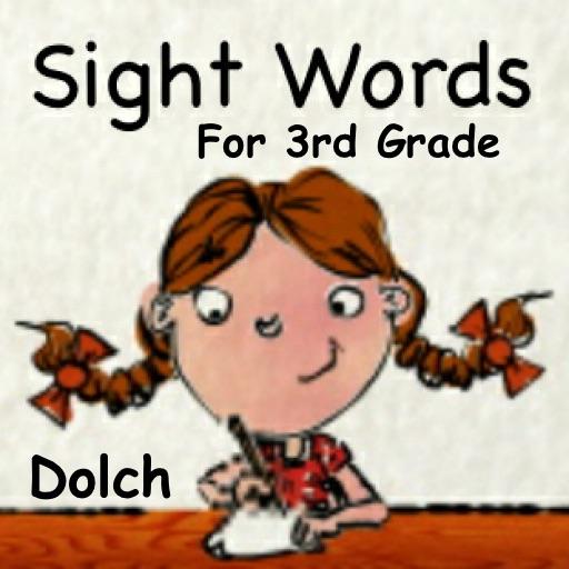 Sight Words For 3rd Grade - SPEED QUIZ iOS App