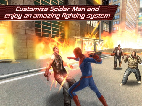 Screenshots of The Amazing Spider-Man for iPad