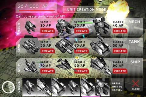 Armada - Galactic War Online screenshot 1