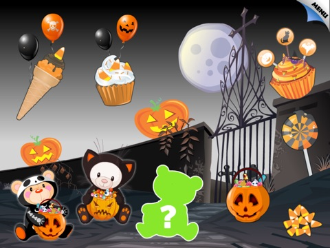 Abby Monkey®: Halloween Puzzle for Toddlers and Preschool Explorers screenshot 1