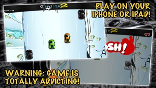 Screenshots of Rapid 2: Fast Track Car Racing for iPhone