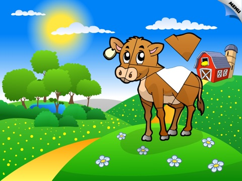 Abby Shape Puzzle – Baby Farm Animals and Insect screenshot 1