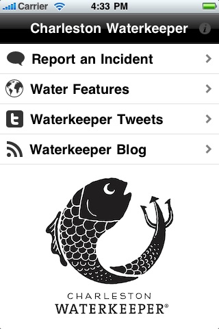Charleston Waterkeeper screenshot 1