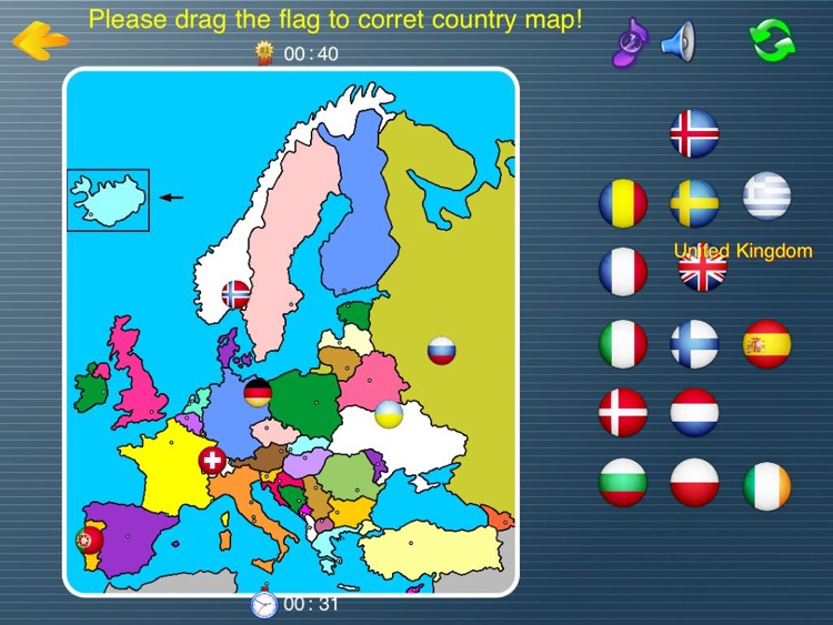 7 continents country flags game HD(Asia,Europe,Africa,Oceania ...