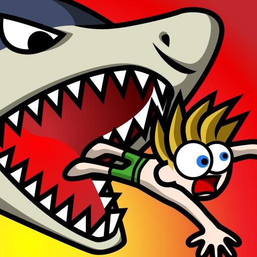 【趣味游戏】 跳跳鲨鱼 Mega Game with Cartoon Shark Jump Games App