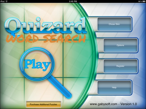 Quizard Word Search screenshot 1