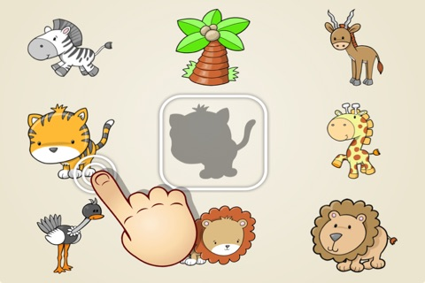 Match the Shapes for Kids and Toddlers - Farm, Animals and Tool Edition screenshot 1