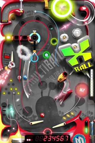 Multiball Pinball Screenshot