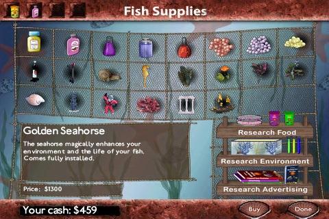 Fish Tycoon Lite screenshot 2
