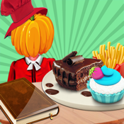 Halloween Cookbook for iPhone5/iPhone4S/iPad icon