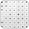 Symbole-Tastatur - Fügt Symbole, Emoji und ASCII-Tastatur icon