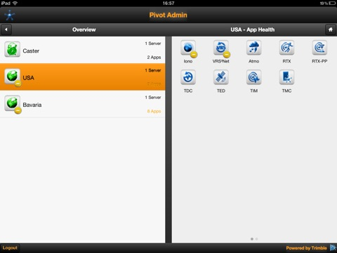 Pivot Admin for iPad screenshot 2