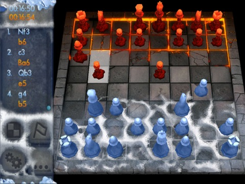 Chess: Battle of the Elements HD screenshot 1