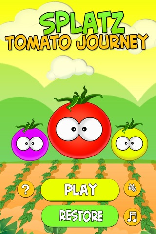 Splatz - Tomato Journey screenshot 1
