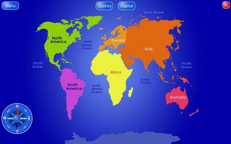 Countries and capitals en mac app store captura de pantalla 1 gumiabroncs Images