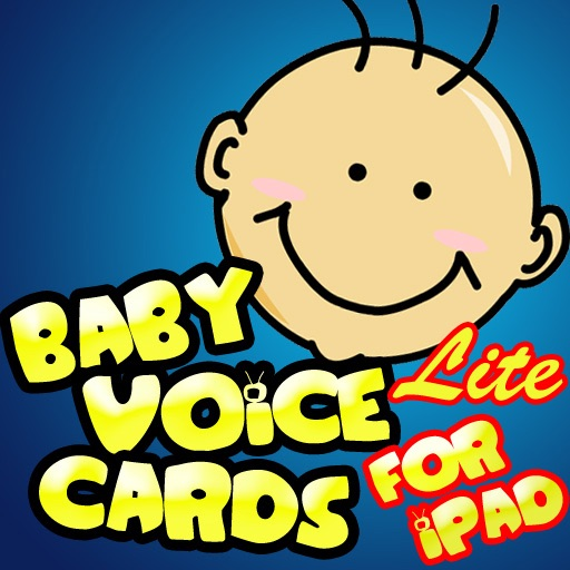 Baby Voice Cards Lite for iPad iOS App