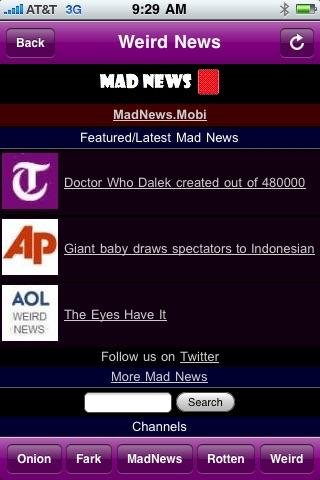Weird News - Bizarre and Silly News screenshot 2