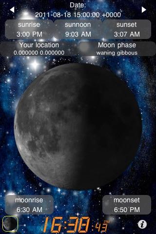 Луна Календарь (Moon Calendar + Sunrise Sunset)Скриншоты 2