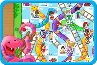 Snakes and Ladders Game Screenshot