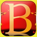 Spell My Name - B - Red and Gold icon