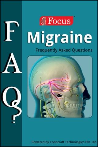 Migraine FAQ screenshot 1