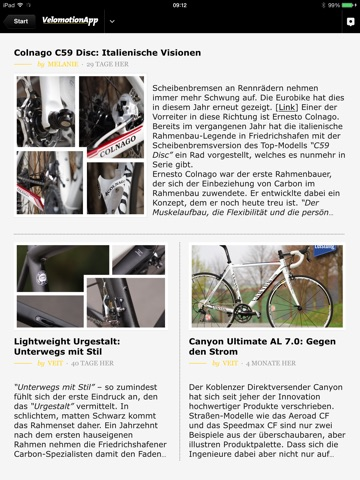 Velomotion App - Magazin screenshot 2