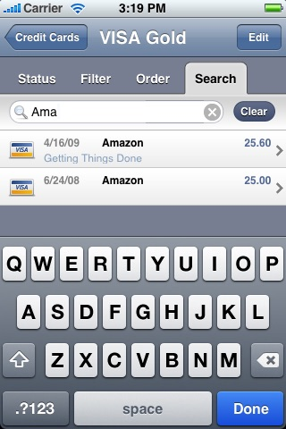 Credit Card Expense Manager screenshot 3