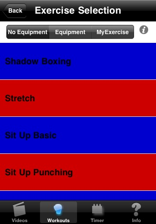 MyBoxing Trainer Lite screenshot 4