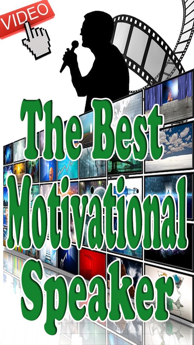 The Best Motivational Speaker iPhone