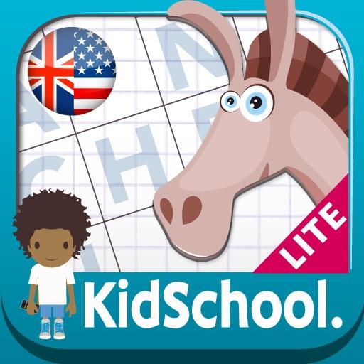 Kidschool : my first criss-cross puzzle LITE iOS App