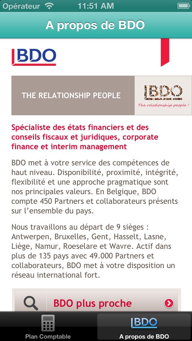 Plan comptable belgeCapture d'écran de 4