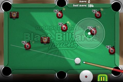 Blast Billiards Touch Lite screenshot 1