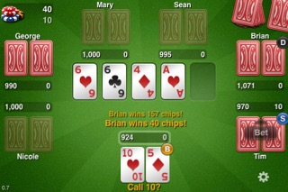 THTouch - Texas Holdem Poker screenshot one