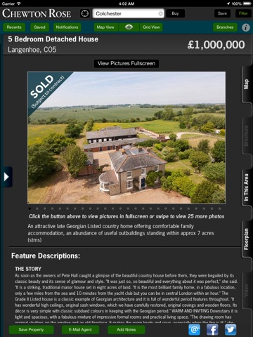 Chewton Rose Property Search - For iPad screenshot 2