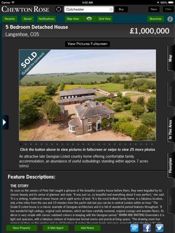 Chewton Rose Property Search - For iPad screenshot 2