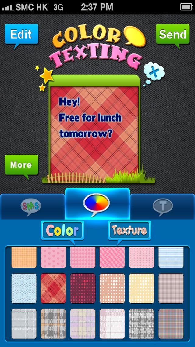 Screenshot von Farben & Schriften – Individuelle Gestaltung deiner Nachrichten Gratis1
