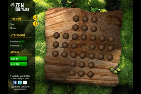 Zen Solitaire screenshot 1