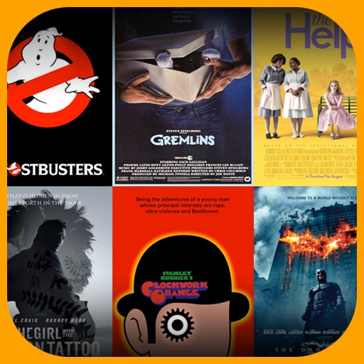 Movie Poster Close-Ups - Trivia Game iOS App