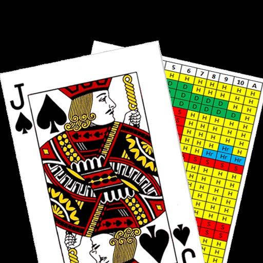Blackjack Strategy Card iOS App