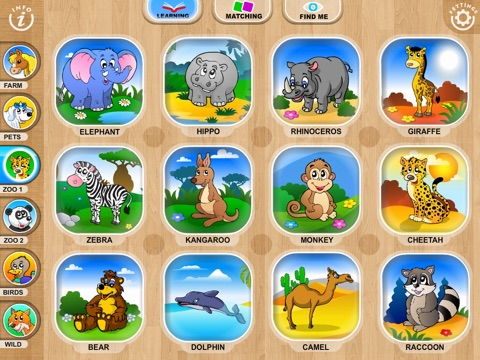 Abby Monkey® Baby Zoo Animals: Preschool activity games for children screenshot 1