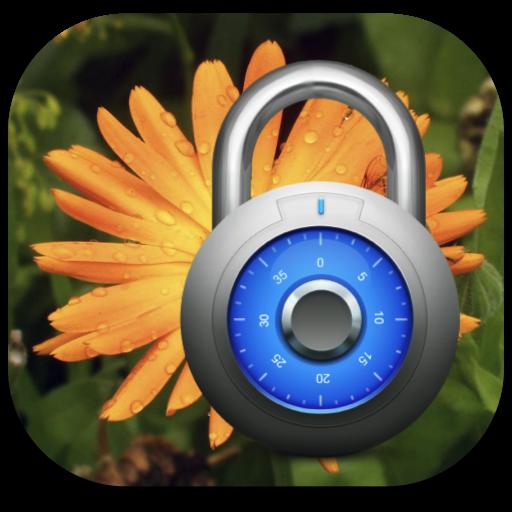 Icone Encrypt Photos